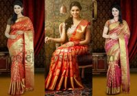 kanjeevaram-bridal-saris-in-orange